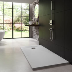 Farbwahl für das Bad nach Feng Shui, grau