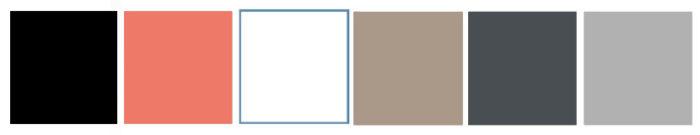 Farbwahl, Referenzfarben