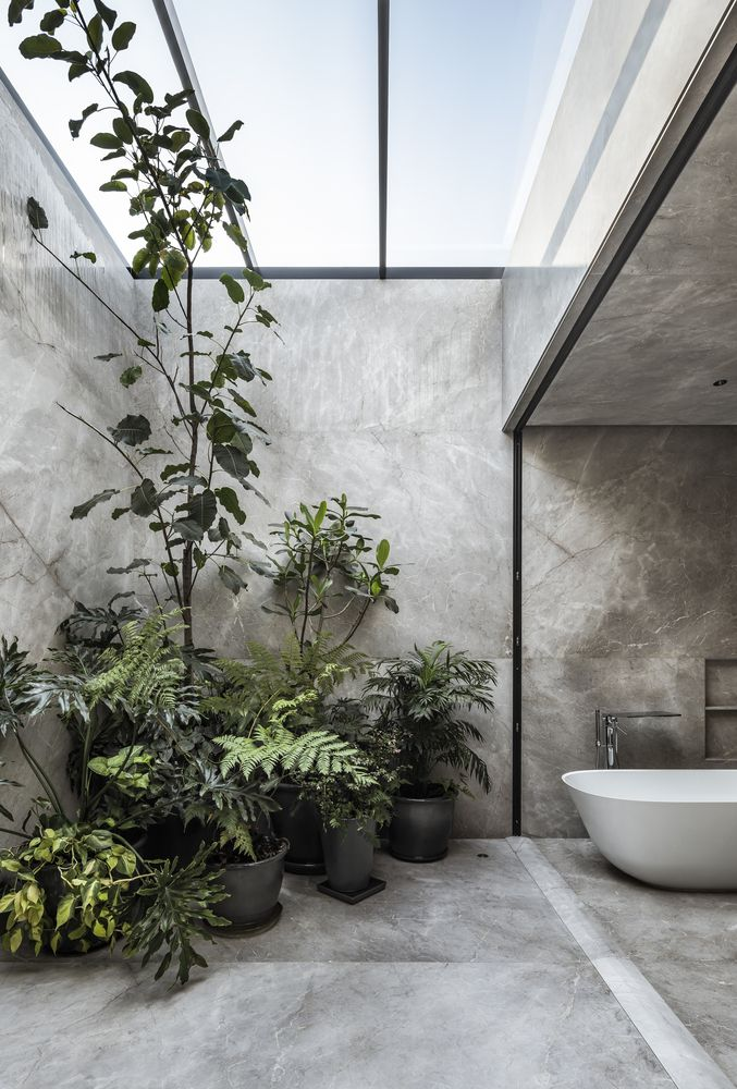 Lino - verano tu baño, inspiración